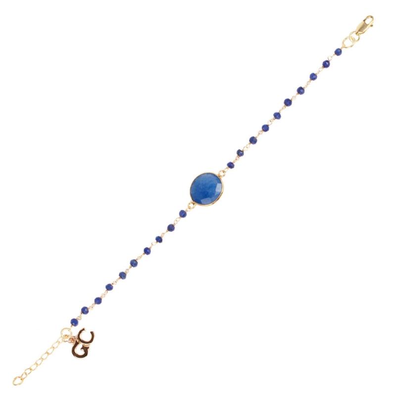 Bracelet Vermeil et Lapis Lazuli , Barcelona