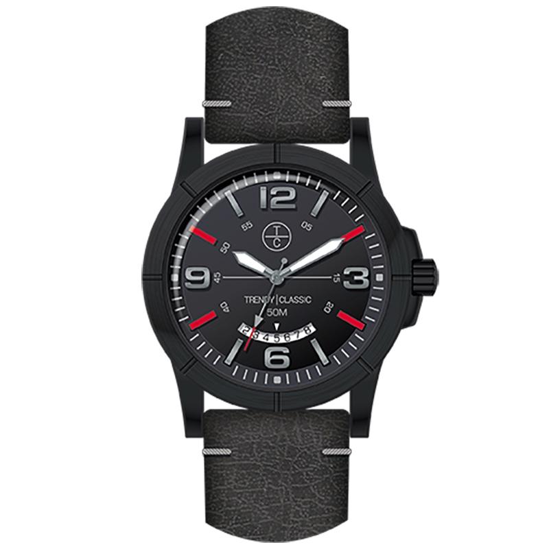 Montre Homme Trendy Classic, Cadran Noir , Avenger CC1036-20D