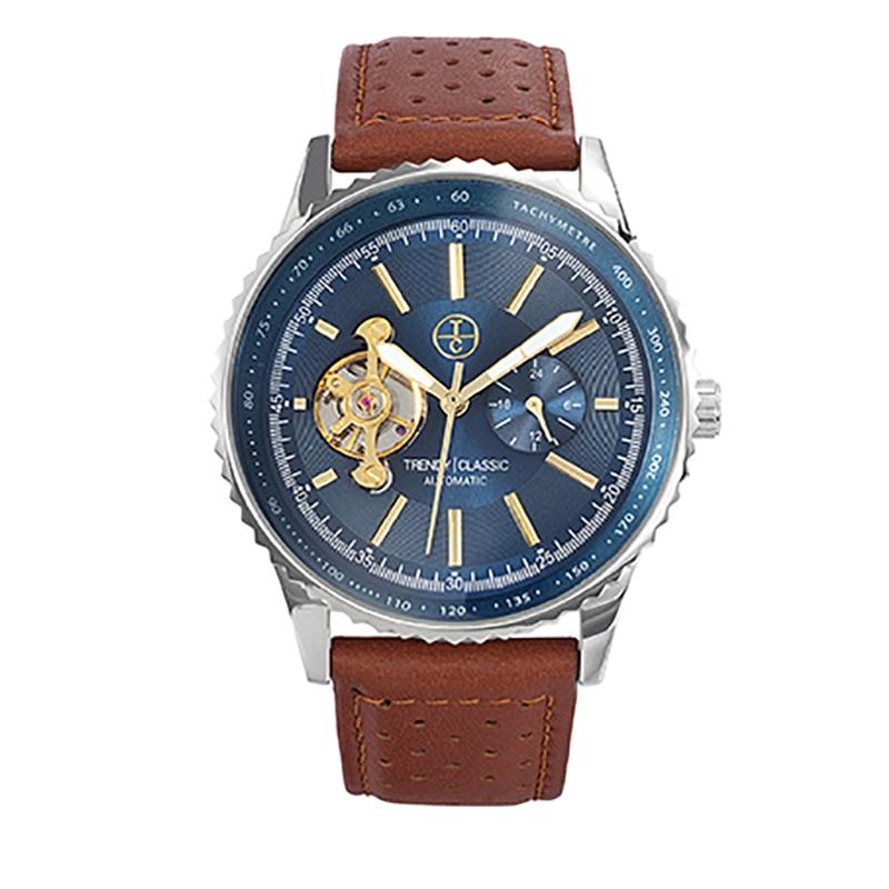 Montre Homme Trendy Classic, Cadran Bleu , Lokheed CB1028-05
