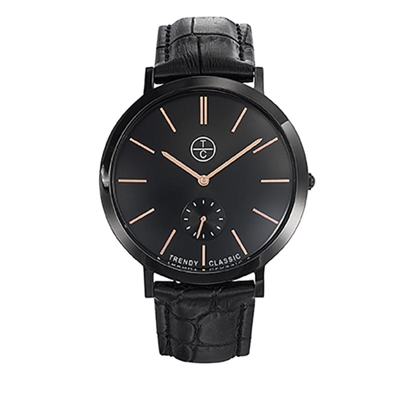 Montre Homme Trendy Classic, Cadran Noir , Lansen CB1029-02