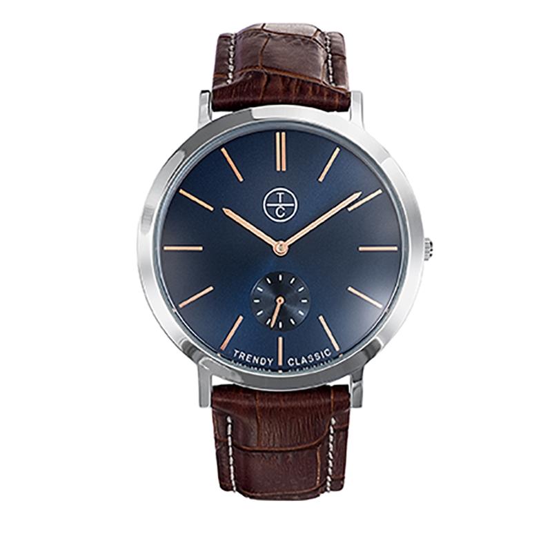 Montre Homme Trendy Classic, Cadran Bleu , Lansen CB1029-05