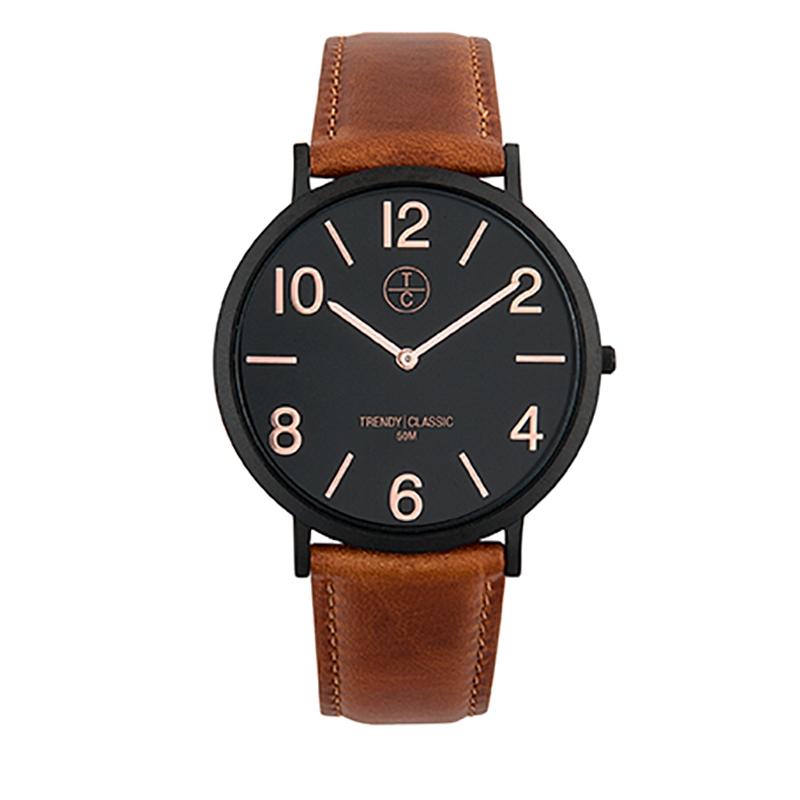 Montre Homme Trendy Classic, Cadran Noir , Lansen CB1033-20