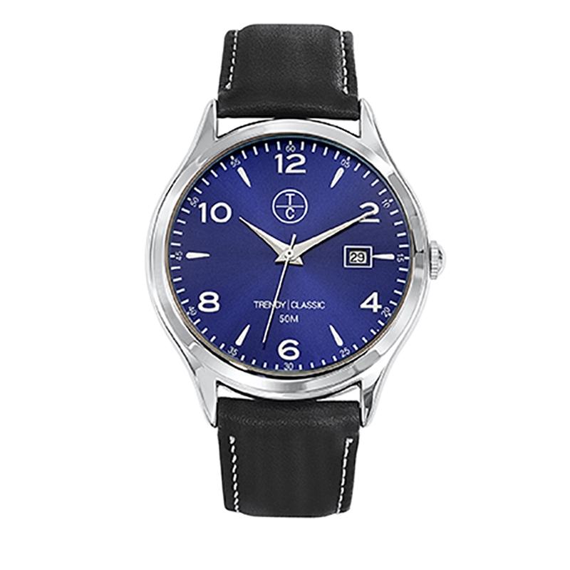 Montre Homme Trendy Classic, Cadran Bleu , Albacore CC1001-05D