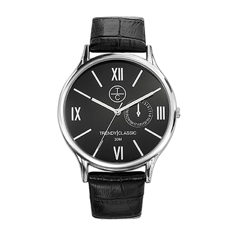 Montre Homme Trendy Classic, Cadran Noir , Bevedere CC1002-02
