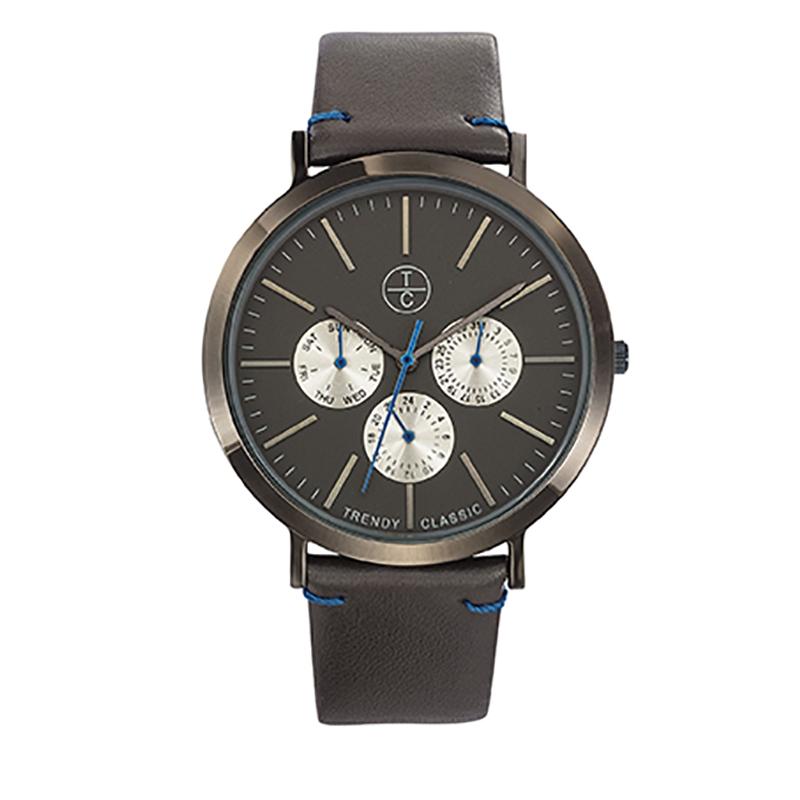 Montre Homme Trendy Classic, Cadran Noir , Lansen Multi CC1027-20M