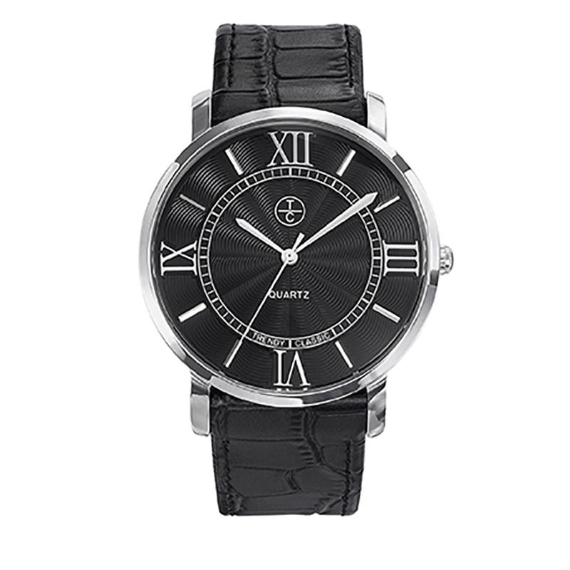 Montre Homme Trendy Classic, Cadran Noir , Bristol CC1031-02