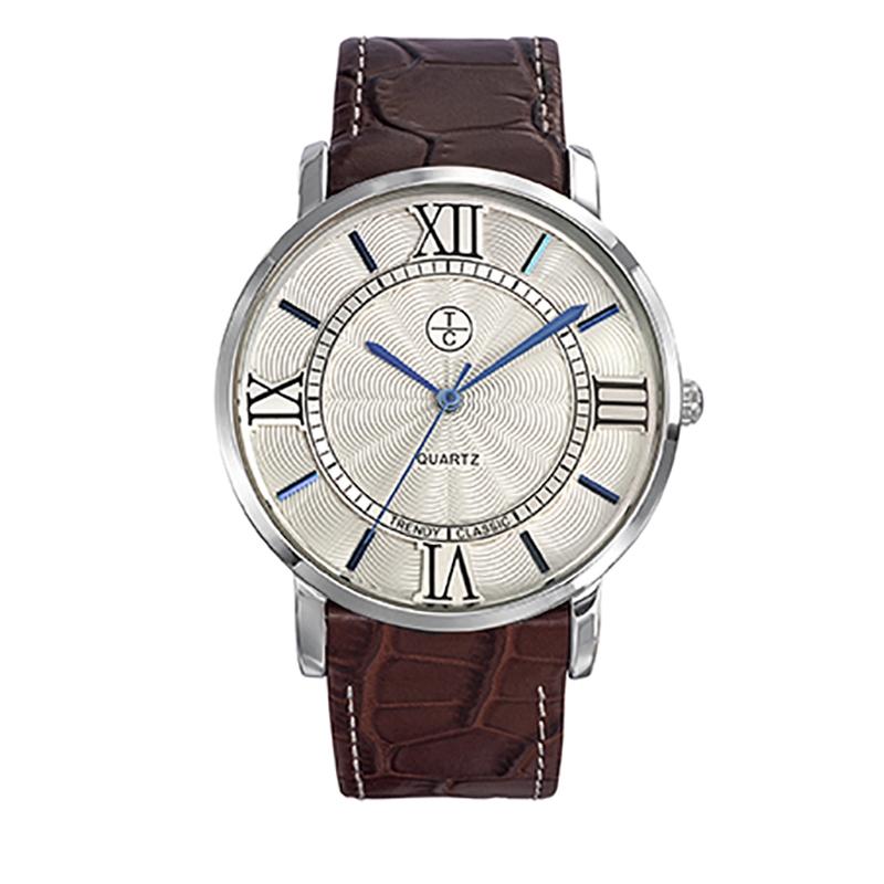 Montre Homme Trendy Classic, Cadran Blanc , Bristol CC1031-03