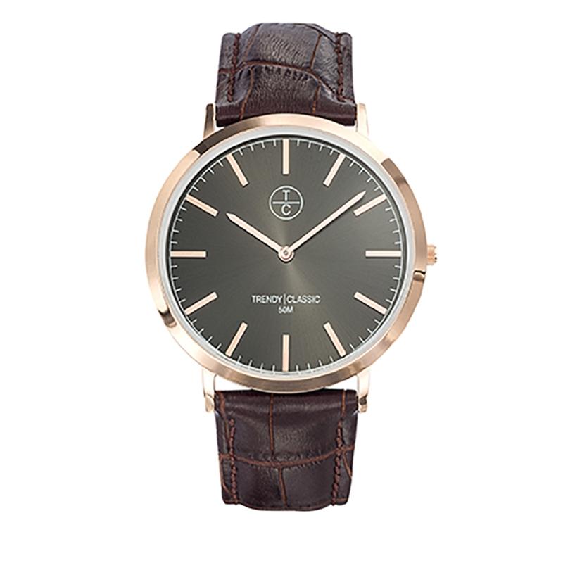 Montre Homme Trendy Classic, Cadran Noir , Lansen CG1025-08