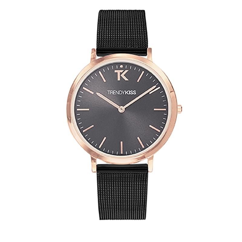 Montre Femme Trendy Kiss, Cadran Noir Bracelet Noir , Lovisa TMRG10089-32