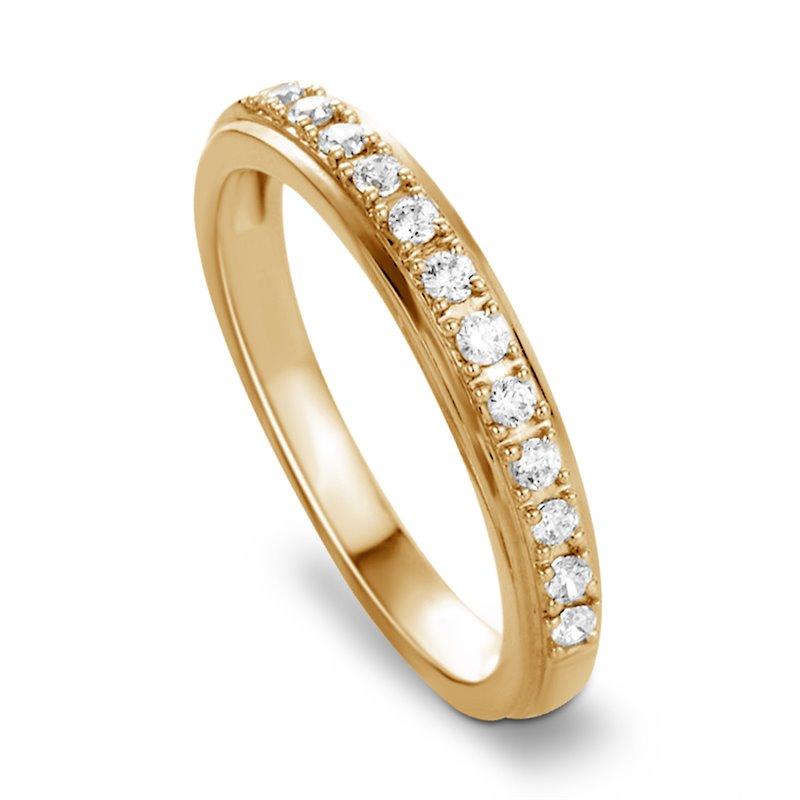18k Yellow Gold Diamond Eternity Ring , Aurore