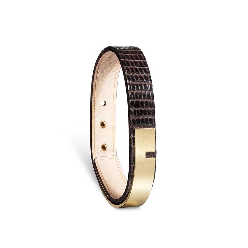 Genuine Iguana Bracelet for men, Ursul Paris , U-Turn 11