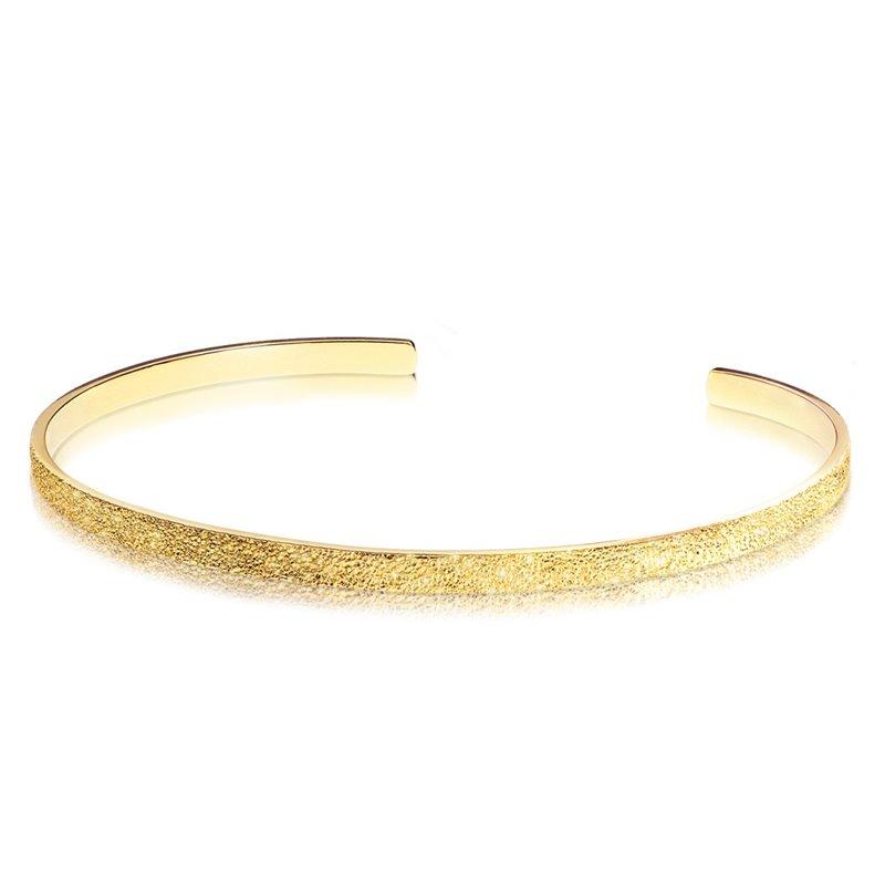 Bracelet Jonc Pour Femme en Or jaune , Over the Moon