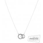 collier argent et cristal swarovski - Ornella