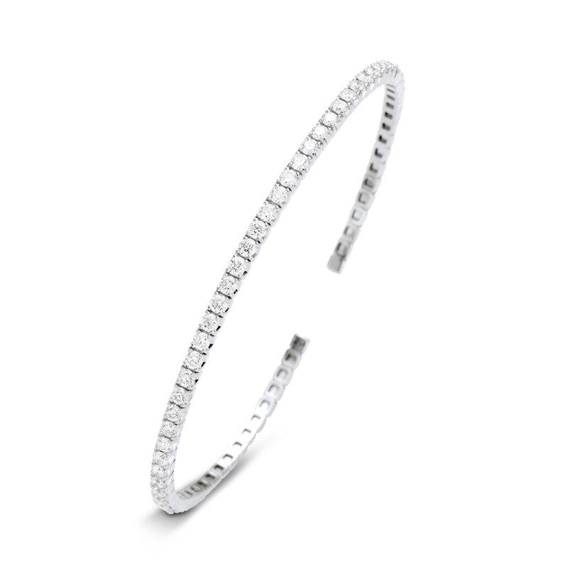 18k White Gold Diamond Bracelet , Lorna