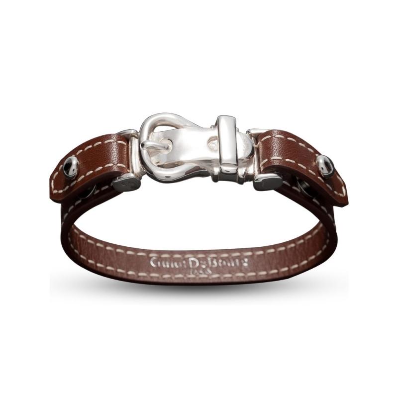 Bracelet en cuir, Argent , Aries