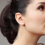 Boucles d'oreilles Cristal
