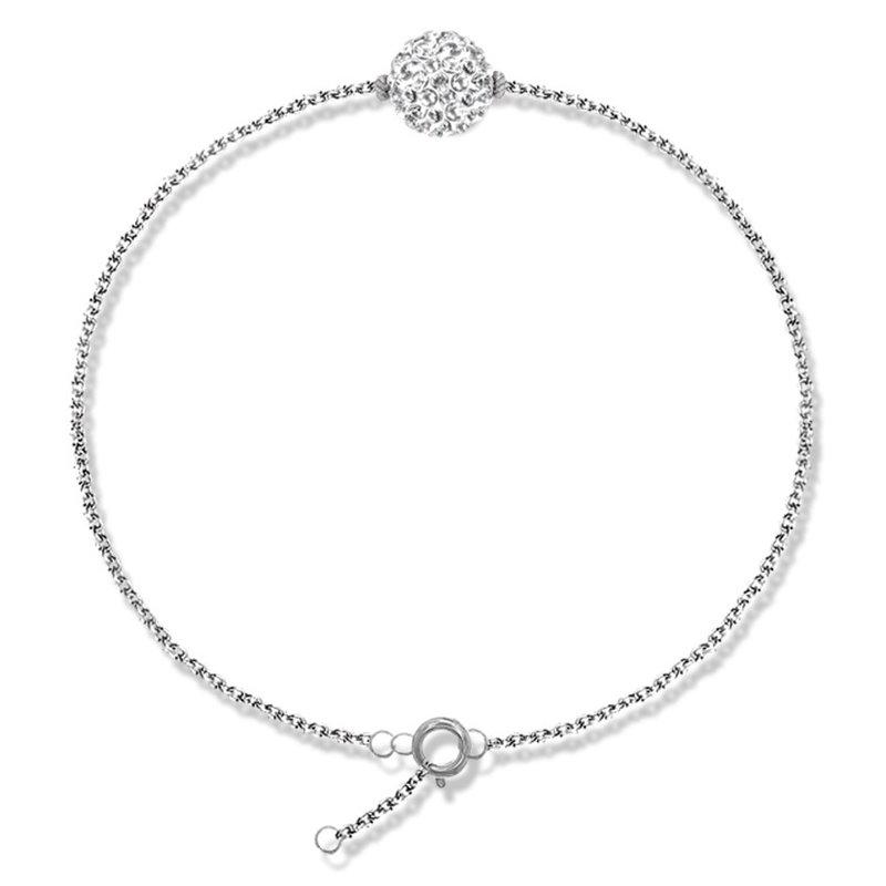 Bracelet argent et cristal Swarovski , Lady Glam