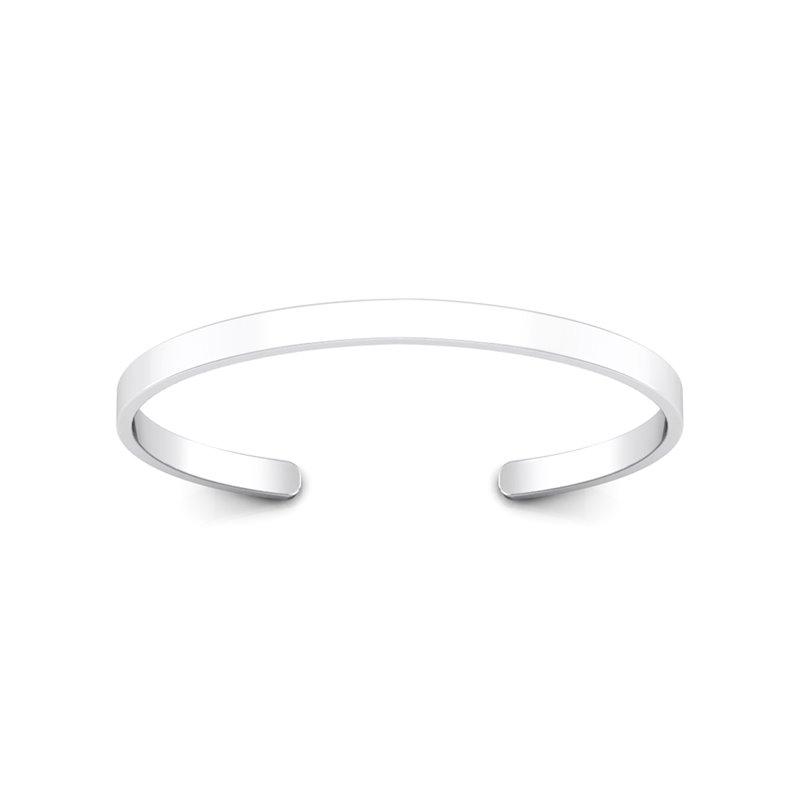 Bracelet Jonc Argent pour Homme , Mr D. 15.35 Grammes de Finesse