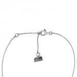 Trefle - Bracelet argent et diamant