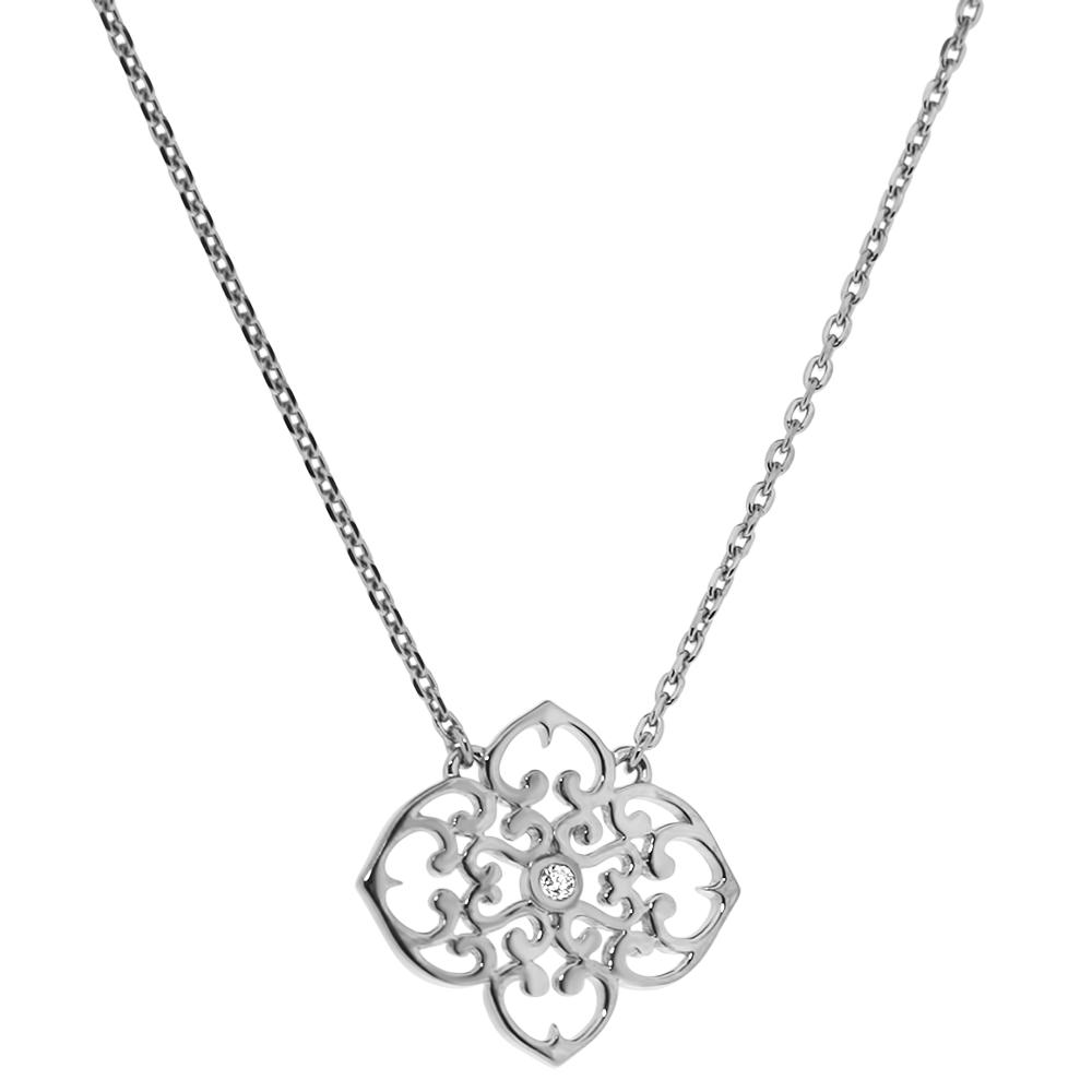 Collier vermeil et diamant