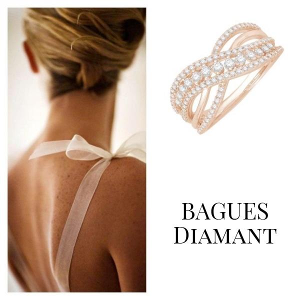 Bagues joaillerie en or et diamants