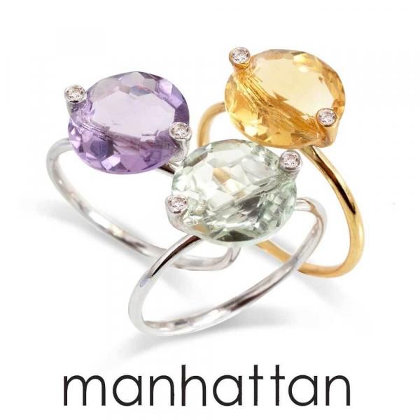 Bagues mode et pas chères - Manhattan