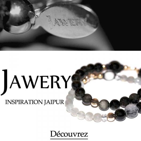 Jawery - Bracelets en pierres naturelles d'inspiration indienne