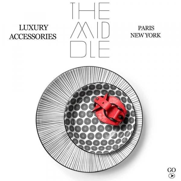 Bracelets cuir de luxe pour homme et femme The Middle Brand