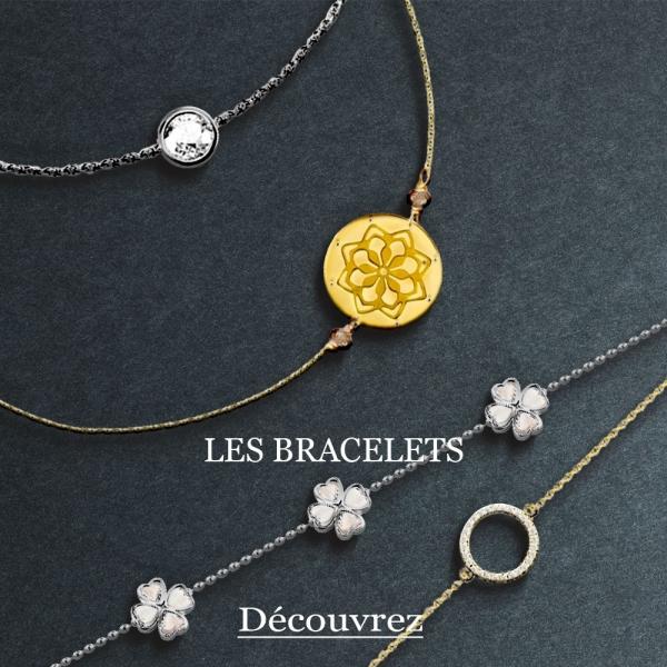 Bracelets classiques ou design, tendance ou créateur